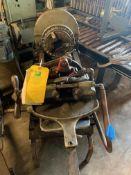BEAVER Piper Threader Machine Model A 999 Motor 3 Phase 480/220 2HP