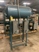 Horizontal Tank steam Boiler. Condensate Return Systems Tank (For 2 pumps),