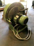 Dutchi Blower. Type DM 132 S2. 3480 RPM. 480 Volts., Rigging Fee: $25