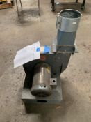 Dayton Blower Model 2C. 2 Hp. 575 Volts AC, Rigging Fee: $20