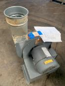 Blower Model PW11. 1 Hp. 575 Volts. 3500 RPM, Rigging Fee: $20