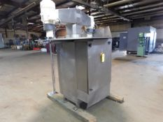 """Vanwyk Mixer, Type: AL1122H2, 330 Volts, 7.5 HP, 40"""" Stainless Steel, Mixer Pole, Good Condition,"""