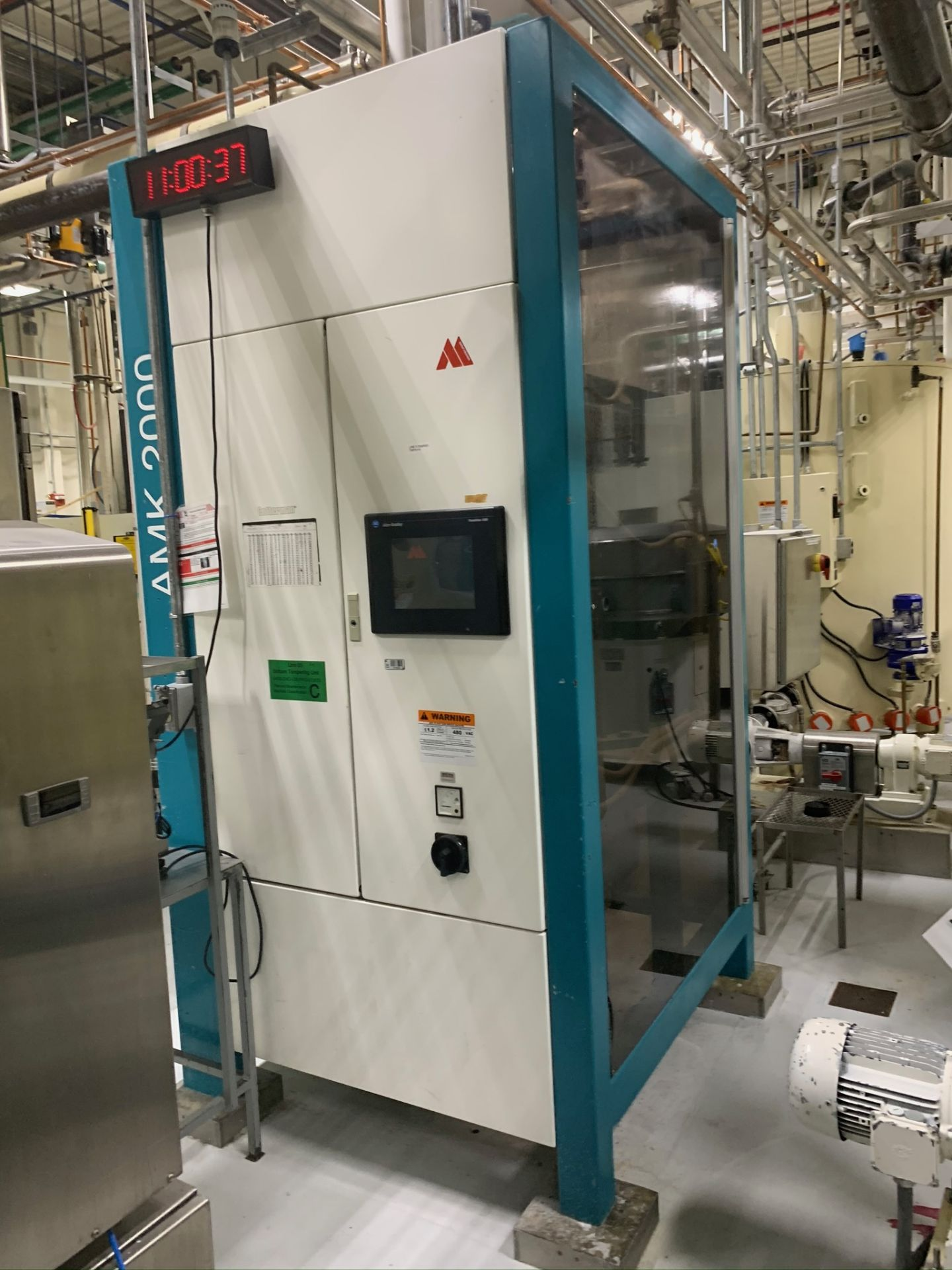 Lot 115 - (Located in Bloomington, IL) AMK 2000 Tempering Unit. RIGGING FEE: $3000