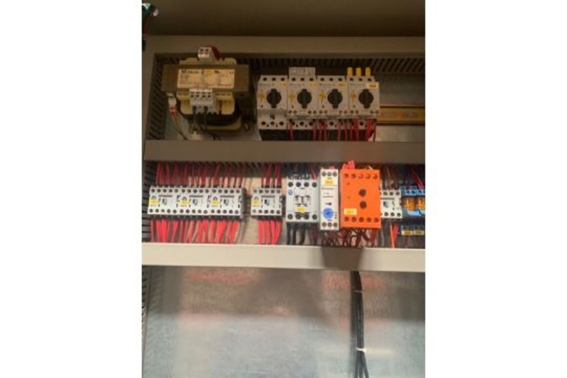 Lot 21100 - Disc Opener STUMMER Kontstruktion Model 89336- EWG Mev 73 23 480 Volts, Rigging Fee: $250