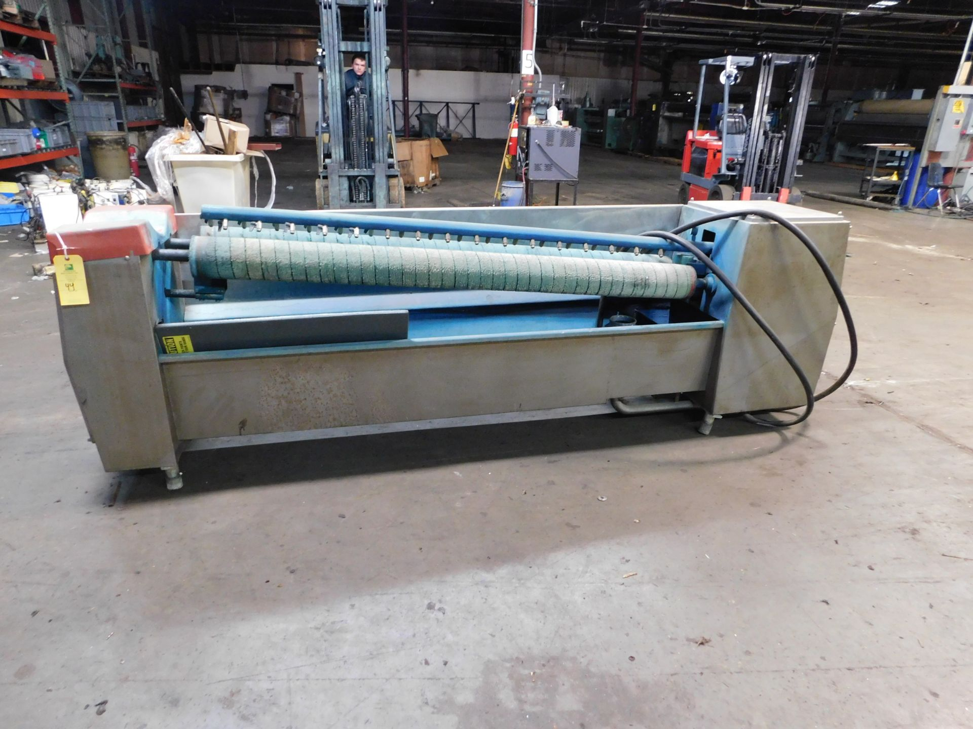 "Lot 21215 - Stork screen washing, Working Width 67 3/4"", Screen washer for Rotary screens, Good Condition,"