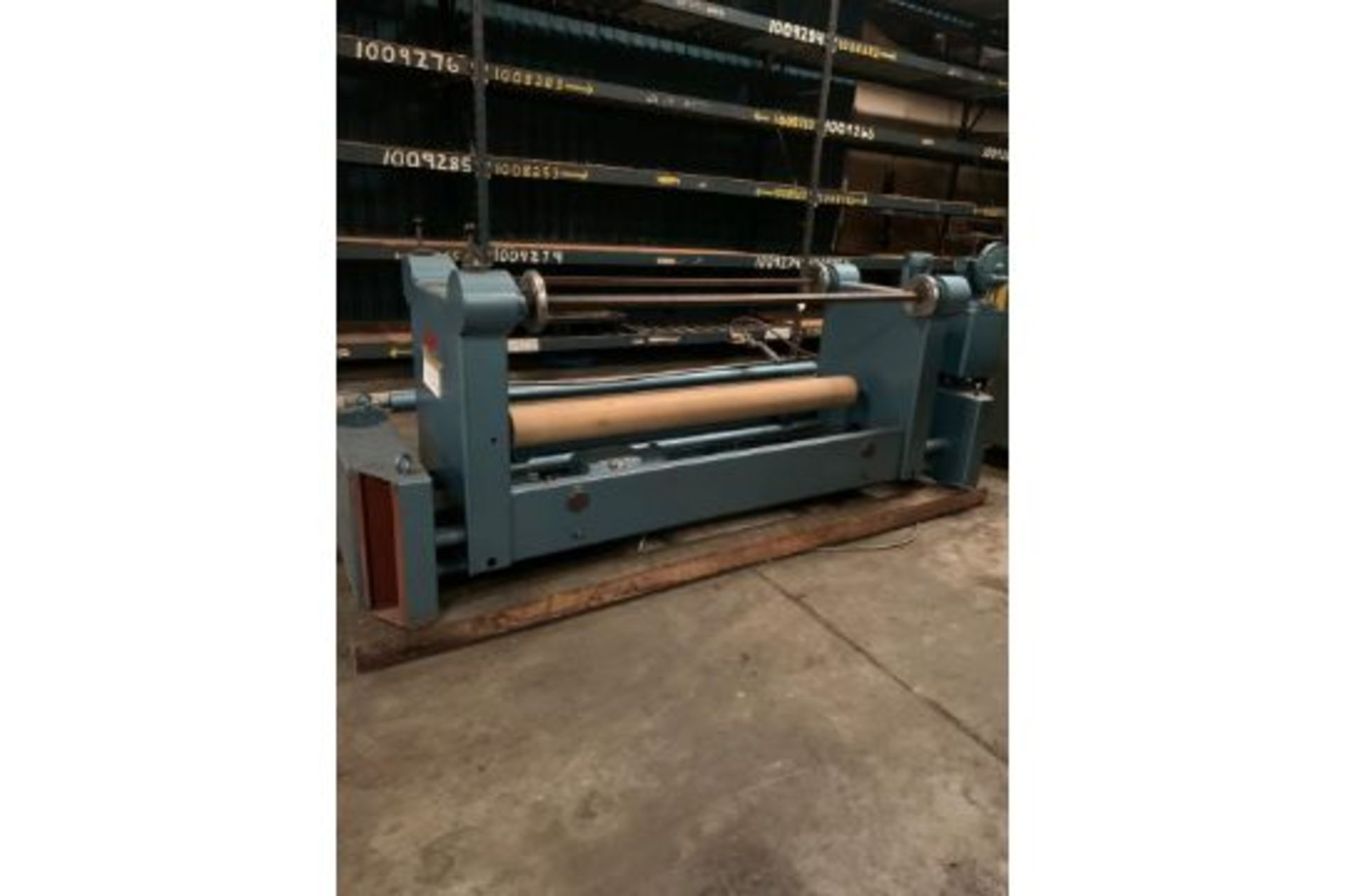 """Lot 21113 - ISOTEX Winding and unwinding 72"""" Age guiding systems 3HP 220 Volts, Rigging Fee: $50"""
