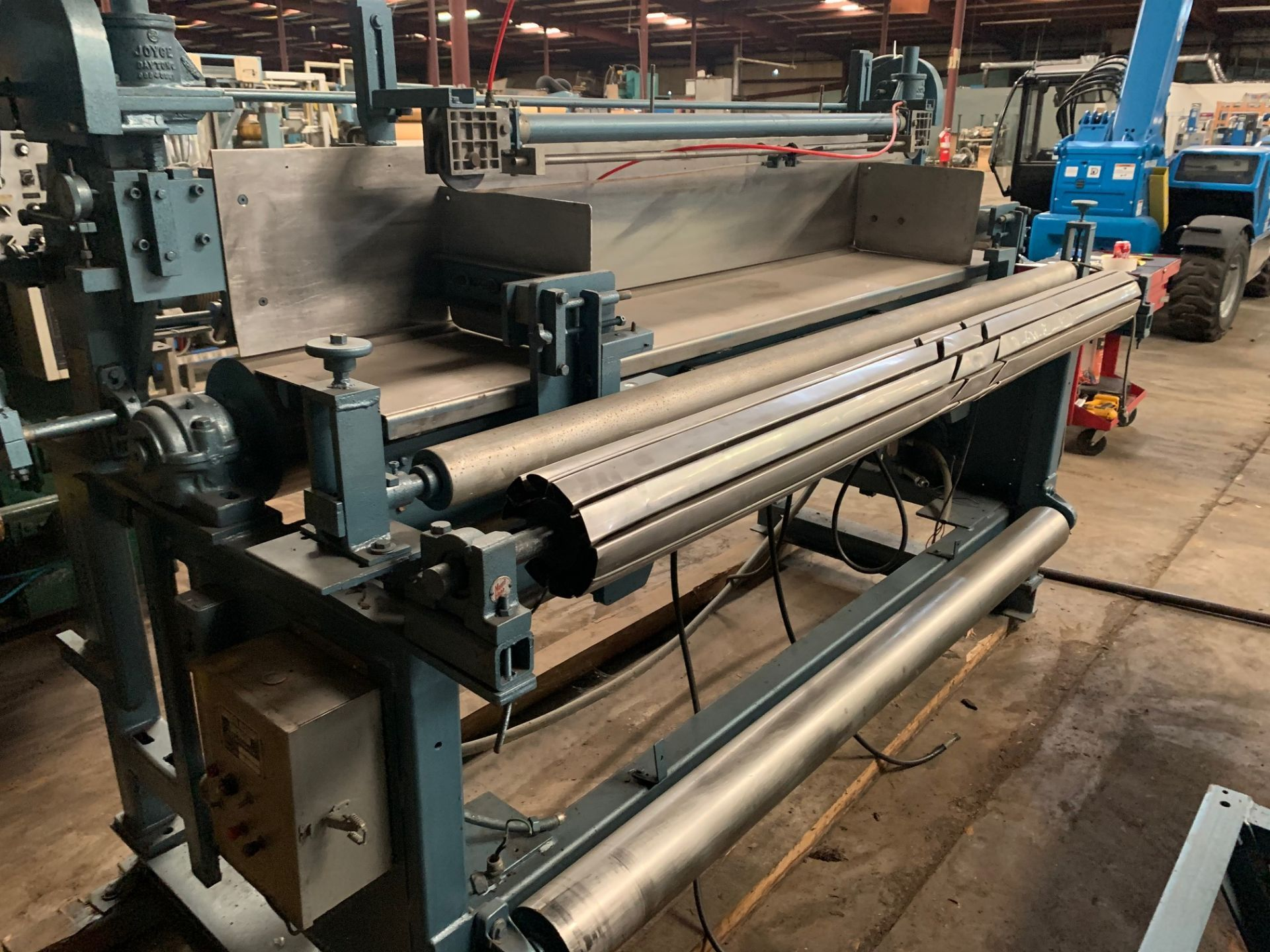 """Lot 21158 - Herman Rubber & Plastic Machinery, Serial# 0042019, Working Width 80"""", Good Condition, Rigging"""