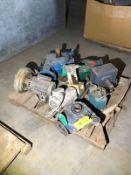 Pallet of Motors & Pumps, Including Reliance