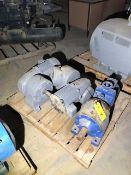 (3) Smaller Motors & Pumps (5 HP Motors)