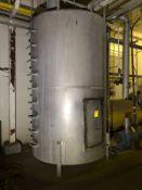 Cooling Water Tank, W/ 25 HP Baldor Motor