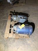 Pallet with (2) Motors, Includes a 20 HP Baldor Motor, Frame #2561C