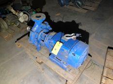 Feed Pump & 15 HP Motor