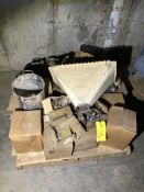 (2) pallets of misc. spare parts