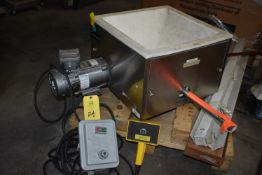 "Schenck Accu-Rate Bulk Solids Metering System, Variable Speed Control, 18"" x 18"" Top/Auger Feed"