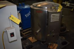 Groen Model #AH-40 Stainless Steel Jacketed Steam Kettle, Rated 40 Gallon Capacity, SN 30149, ID #