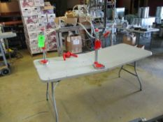 LOT OF 3 manual crowners with table, 2 table mount , 1 hand operated ***Auctioneer Note*** -- $25