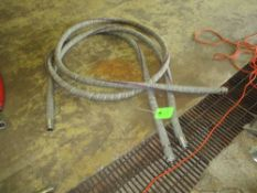 LOT OF 2 purple snake beer hose, 25 ft and 10 ft lengths ***Auctioneer Note*** -- $25 Removal &