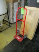 Steel hand truck with solid rubber wheels ***Auctioneer Note*** -- $10 Removal & Loading Fee will be