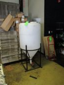 Ace Roto-mold poly tank, model INFD110SWSS, cert. to NSF/ANSI61, 31 in x 64 in hgt ***Auctioneer