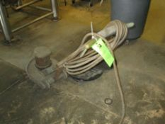 Ulticclean floor scrubber with spare pads, 115 vac ***Auctioneer Note*** -- $25 Removal & Loading