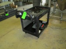 Expo plastic push cart, 24 in x 42 in ***Auctioneer Note*** -- $25 Removal & Loading Fee will be