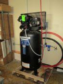 Kobalt 80 gallon air compressor, 5 hp, 208/230 vac, 16 SCFM @ 90 psi ***Auctioneer Note*** -- $50