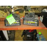 LOT OF 2 battery charger, 6 and 2 amp charge setting ***Auctioneer Note*** -- $10 Removal &