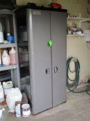 Craftman 2 door storage cabinet, 36 in w x 79 in hgt x 21 in depth ***Auctioneer Note*** -- $50
