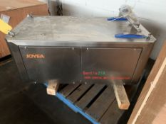 Lot of (2) Joyea Gentle 21A Horizontal Motion Conveyor Never Installed, Loading Fee $150