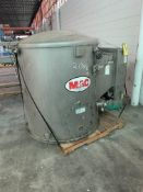 "MAC 48"" Diameter Filter Receiver S/N 37415-005-2, Loading Fee $50"