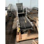 "TGW Ermanco Cruz Belt Conveyor 14' Long x 16"" wide, Loading Fee $250"