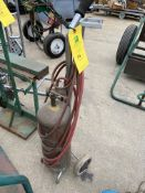 Single Tank Dolly w/ Tank (Located in Oelwein, IA) (Rigging & Loading: $10)