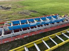 Exetension Ladder, 16', (Rigging & Loading: $25) (Located in Oelwein, IA)