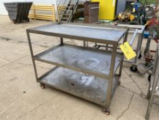 Stainless Steel Cart (Located in Oelwein, IA) (Rigging & Loading: $25)