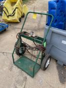 Two Tank Dolly w/ Attachments & Hoses, (Located in Oelwein, IA) (Rigging & Loading: $25)