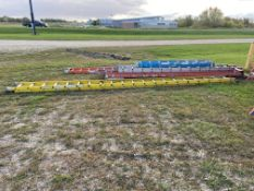 Exetension Ladder, 40', (Rigging & Loading: $25) (Located in Oelwein, IA)
