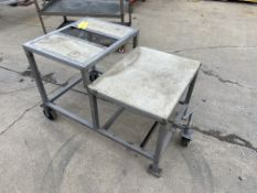 Prep Table on Casters (Located in Oelwein, IA) (Rigging & Loading: $25)