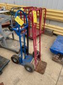 Dollys, Qty 2, (Located in Oelwein, IA) (Rigging & Loading: $25)