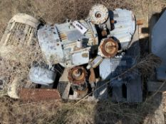 Located in Canon City CO: LOT: 8 electric motor various size, rpm, , Loading Fee of $100