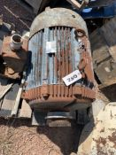 Located in Canon City CO: Westinghouse 100hp 1775 RPM electric motor 208-220/440 445US frame, ,