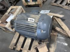 Located in Canon City CO: 50hp Allis TEFC motor 1170 RPM 405U Frame 220/440V , Loading Fee of $100