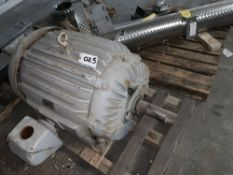 Located in Canon City CO: 75hp Allis TEFC motor 1170 rpm 505 Frame 220V , Loading Fee of $100