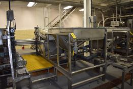 (Located in Mendota, IL) SS Grader Consisting of 6' x 4' Motorized Belt Conveyor, SS Sizer, ID #3