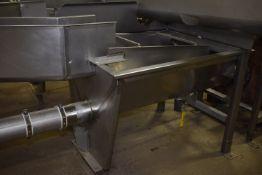(Located in Mendota, IL) SS De-Water Screen Tank
