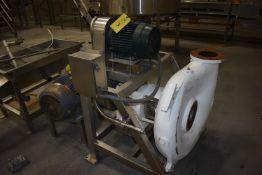 (Located in Mendota, IL) Cornell Model #6NHPP-F16K Pump w/10 HP Motor, Includes SS Vortex Water