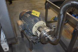 (Located in Mendota, IL) Tri-Clover 25 HP Motor/Pump