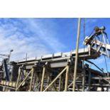 "Conveyor - Motorized Belt Conveyor, 24' Length x 24"" Wide Belt, Includes SS Chute"