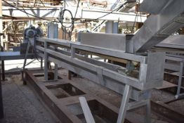 Conveyor - Gravity Feed Conveyor to Slicer, 13' Length