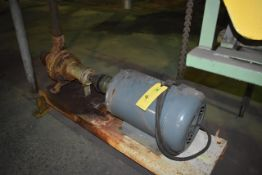 Worthington Model #D814 Pump w/Approx. 10 HP Motor