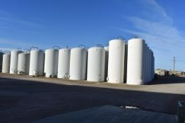 Tank Farm See Detail of (85) Fiberglass Tanks
